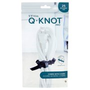 UT Wire Q-Knot Pro Reusable Multipurpose Ties, 25 count