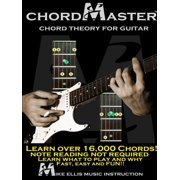 Chordmaster Chord Theory for Guitar (Paperback)