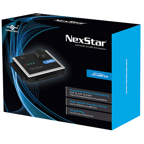 "NexStar SATA/IDE to USB 3.0 Adapter 2.5""/3.5""/5.25""/SSDs"