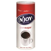 N Joy, Sugar Granulated Canister Pack, 20 oz, 24 Ct