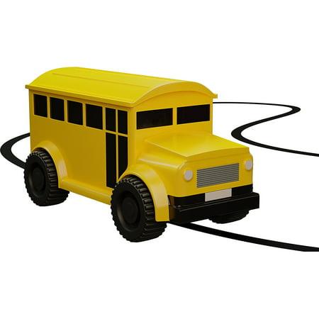 Nylea Magic Inductive Car Truck Follows Black Line Magic Toy Car For Kids & Children Best Mini Magic Pen Inductive Fangle (Yellow (Jimmy Carr Best Lines)