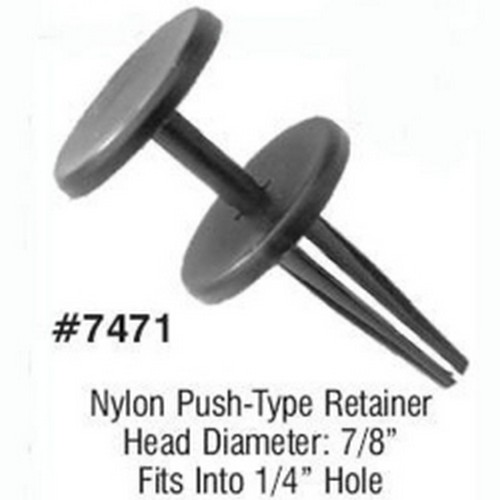 LSP Products 7471R Jeep Push Type Retainer