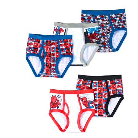 Spiderman Boys' Underwear, 5 Pack