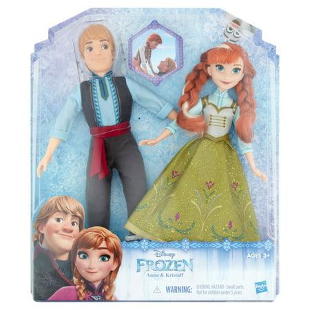 Anna Top - Hasbro Disney Frozen Anna & Kristoff Toys Ages 3+