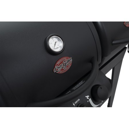Char Griller Dual 2 Burner Gas Charcoal Combo Grill