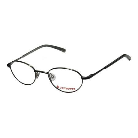 6e28be422c1e49 New Converse All Star Skiddoo Mens Womens Designer Full-Rim Black  Affordable Modern Frame Demo Lenses 40-18-120 Eyeglasses Eye Glasses -  Walmart.com