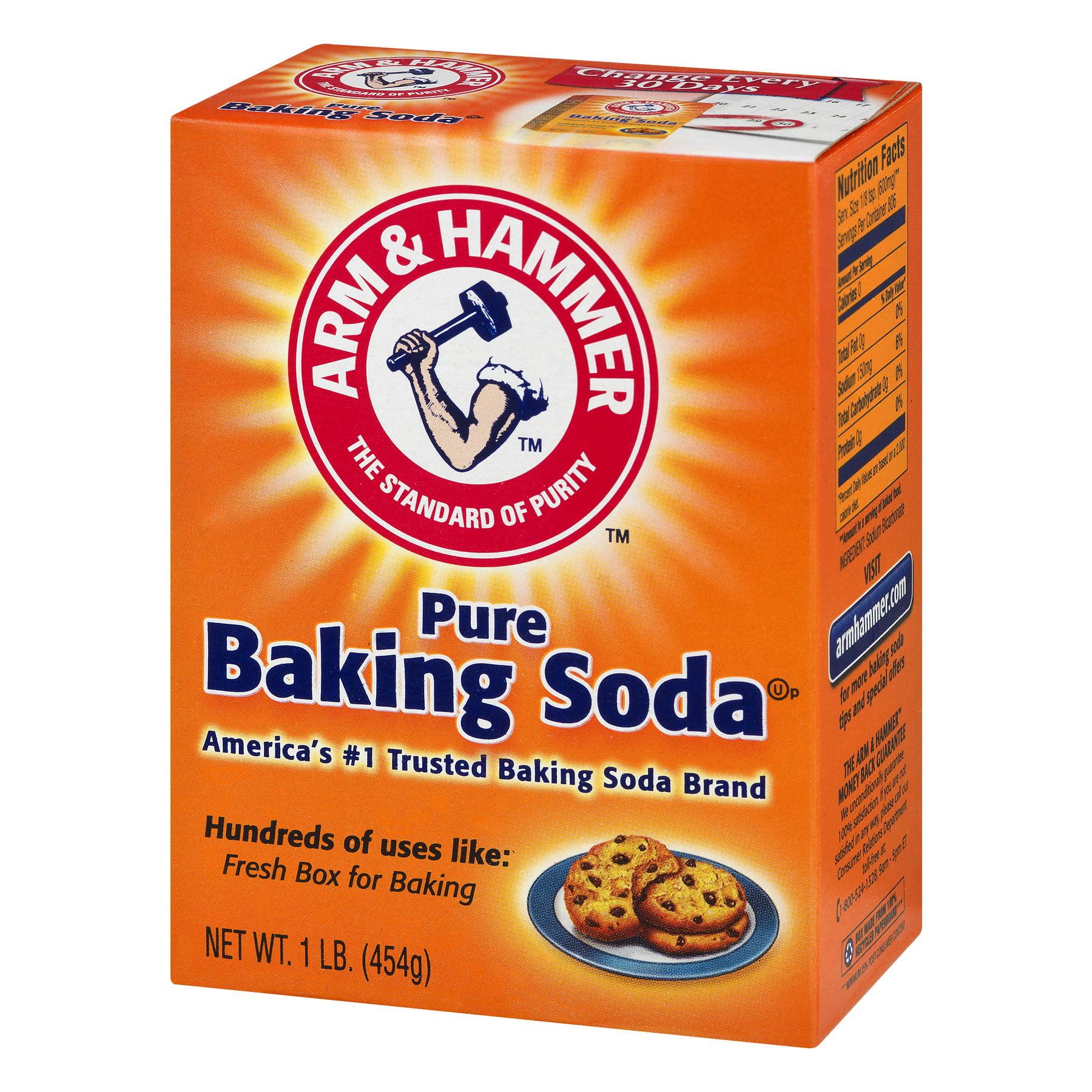 arm hammer pure baking soda 1 lb walmart com