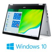 """Acer Spin 3 Thin and Light Convertible 2-in-1, 14"""" HD Touch, AMD Ryzen 3 3250U Dual-Core Mobile Processor with Radeon Graphics, 4GB DDR4, 128GB NVMe SSD, Windows 10 in S mode, SP314-21-R56W"""