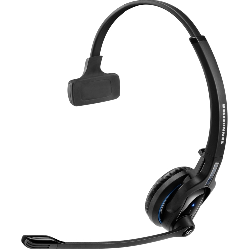Sennheiser MBPro1 Sennheiser MB Pro 1 Headset - Mono - Wireless - Bluetooth - 82 ft - 150 Hz - 15 kHz - Over-the-head - Monaural - Supra-aural - Noise Cancelling Microphone