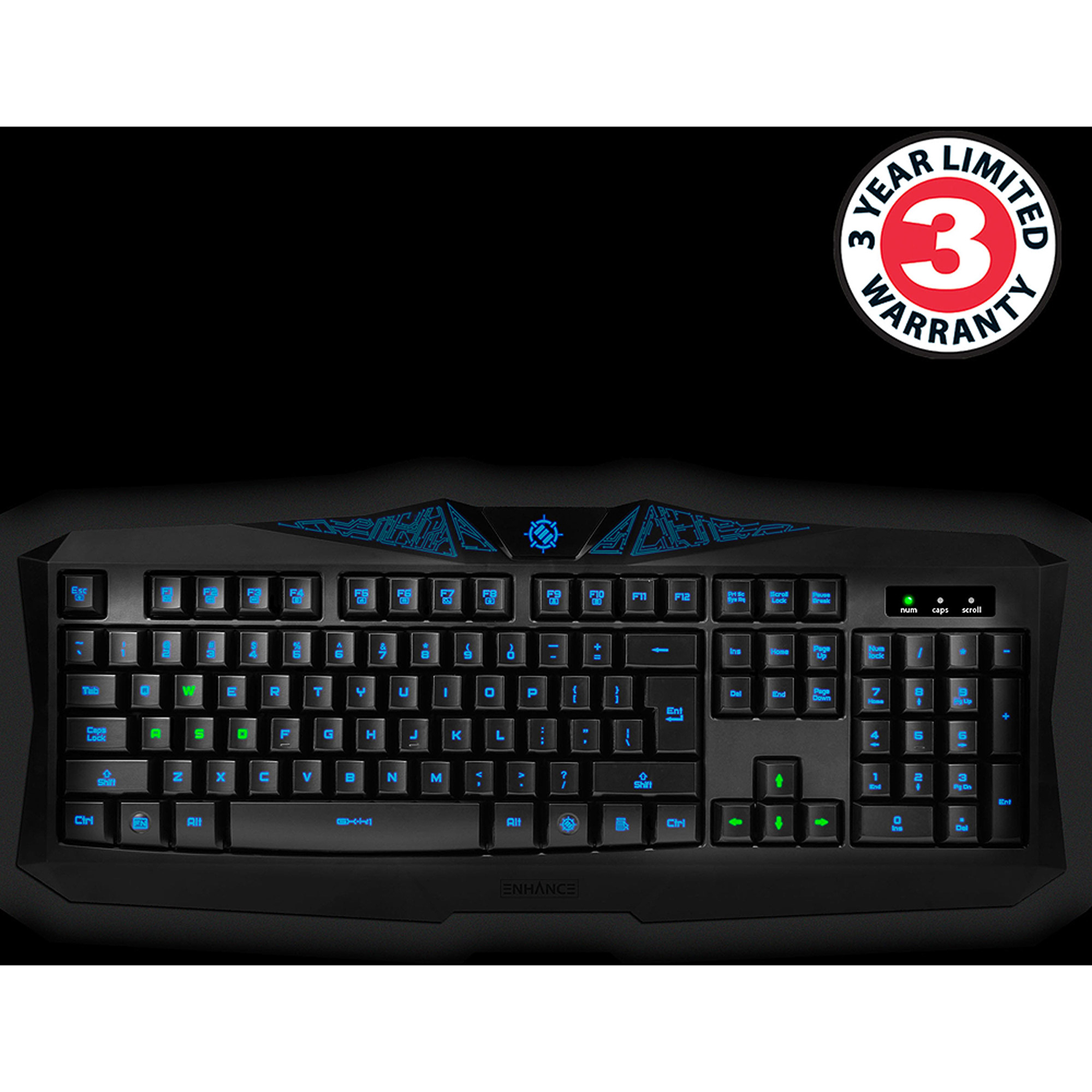 Enhance Gx-k1 Gaming Keyboard With Backl
