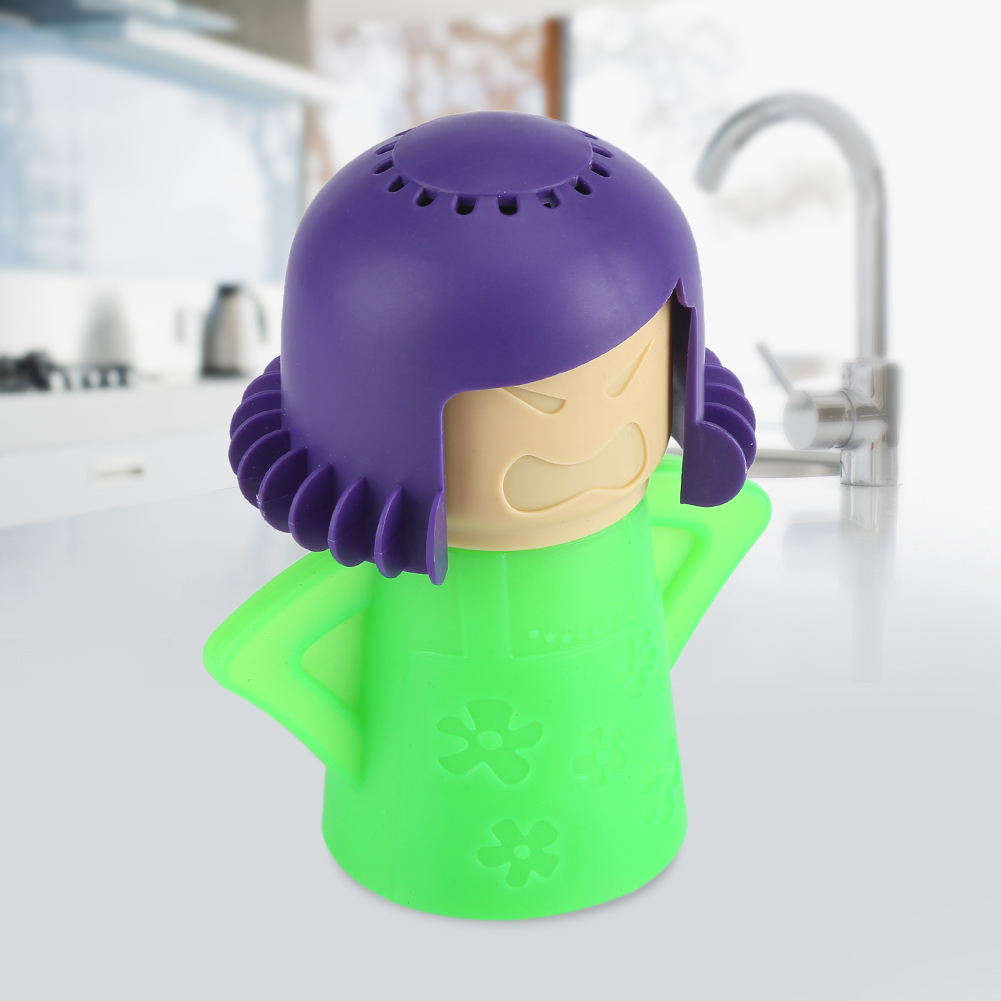 Cute Mom Microwave Oven Steam Cleaner Kitchen Cleaning Gadget Tool , Microwave Oven Steam Cleaner, Oven Steam Cleaner