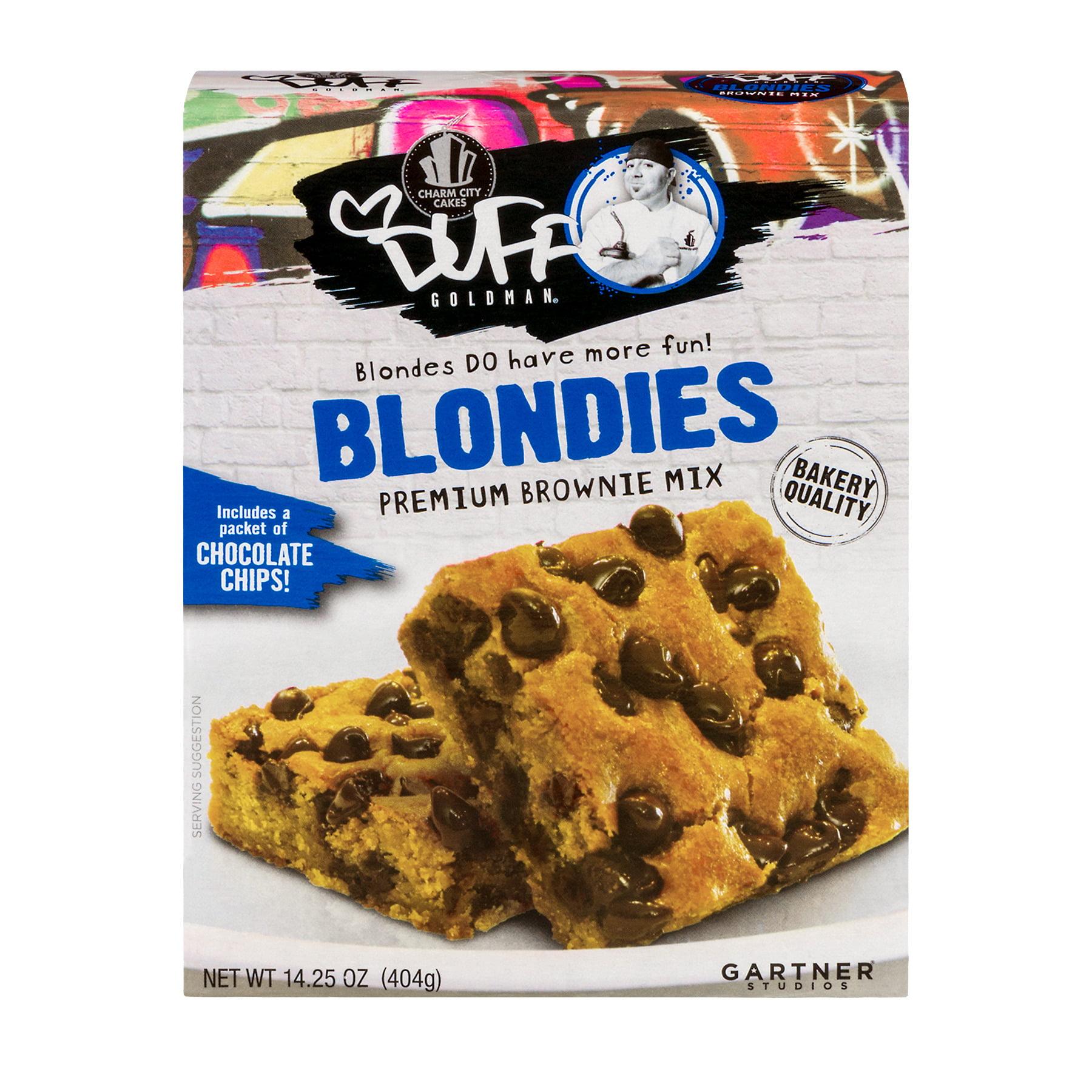 Duff Goldman Blondies Premium Brownie Mix, 14.25 oz