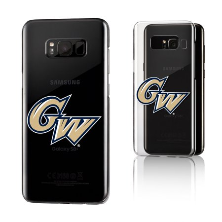 GW George Washington Colonials Insignia Clear Case for Galaxy 8+