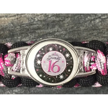 Sweet 16 Gift- Sweet 16 Keychain - Sweet Sixteen Gift- Perfect Birthday Gift For Girls - Girl Keychains