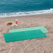"Mainstays Green Beach Towel, 30"" x 60"", 4 Pack"