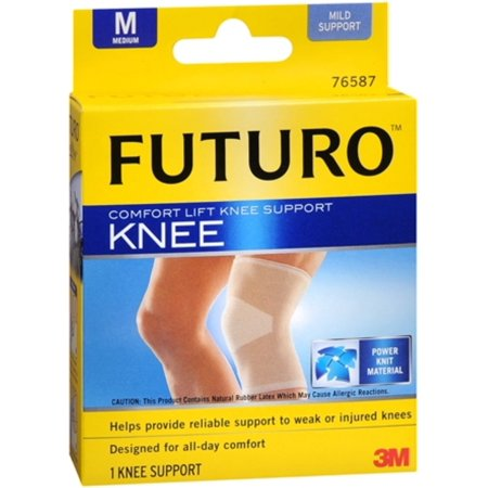FUTURO Comfort Lift Knee Support Medium 1 Each (Pack of 2) ()