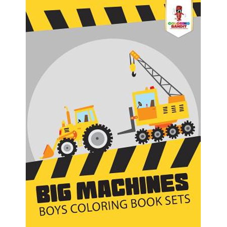 Halloween Coloring Pages For Big Kids (Big Machines : Boys Coloring Book)