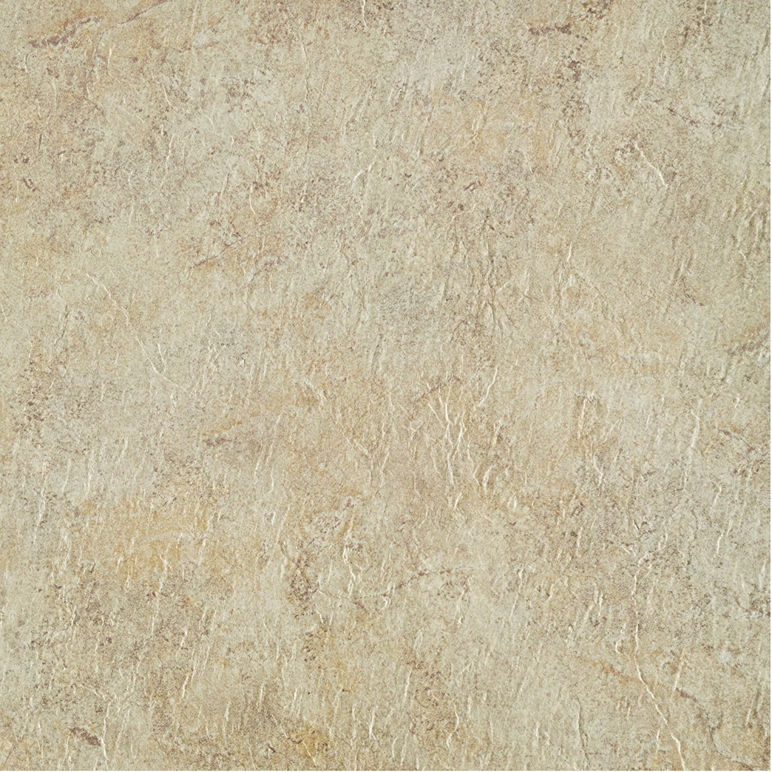 MJVT180310 Majestic Vinyl Floor Tile, 18 x 18 inches, Ghibli Beige Granite, 10-Pack, Just Peel 'N' Stick By Achim Home Furnishings from USA