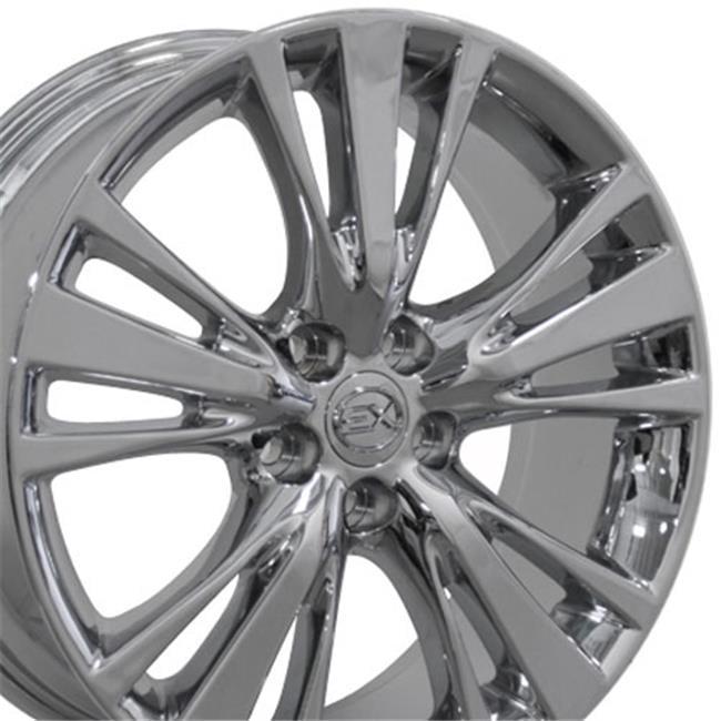 19 x 7 5 in wheel replica 44 chrome for lexus rx 350 rx 450h Lexus RX 450H wheel replica 44 chrome for lexus rx 350 rx 450h walmart