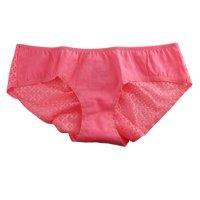 Victoria's Secret Cotton Lingerie Crochet-back Hiphugger Panty