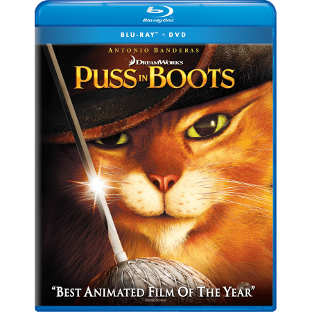 Puss In Boots  Blu Ray   Dvd