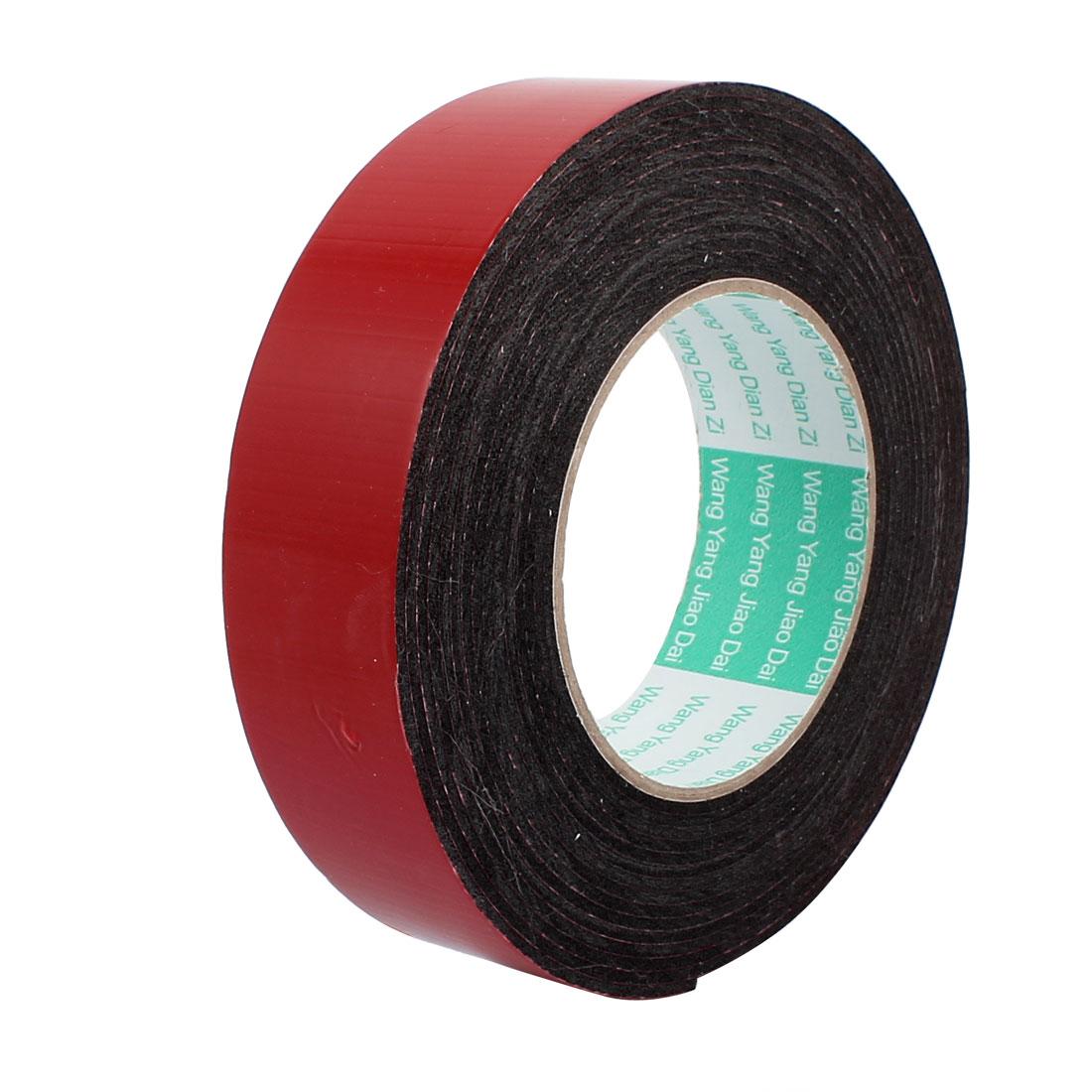 Door Seal 35x2mm Dual-side Adhesive Shockproof Sponge Foam Tape 5M Length