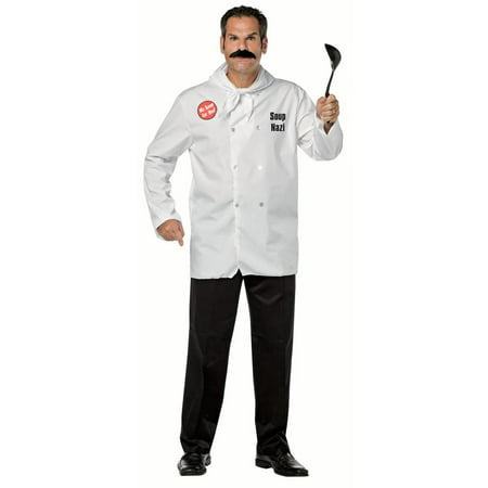 Soup Nazi Seinfeld Men's Adult Halloween Costume - Seinfeld Halloween Quotes