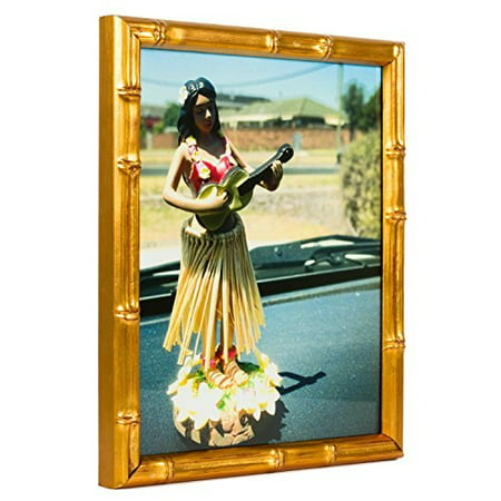 (Craig Frames Vintage Gold Bamboo Composite Picture Frame, 11 by 14-Inch)