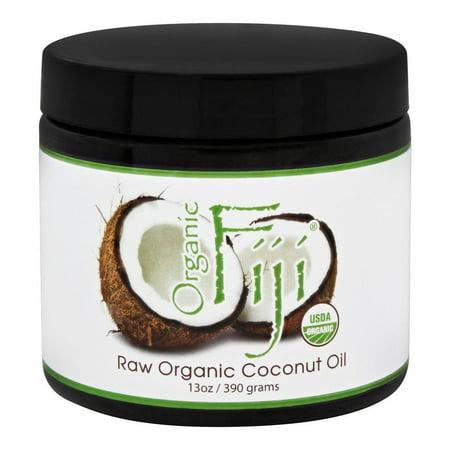 Organic Fiji - Raw Organic Coconut Oil - 13 oz.