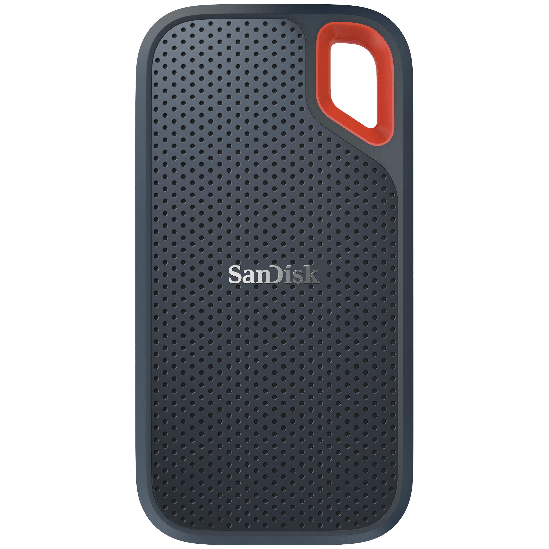 SanDisk 500GB Extreme Portable External SSD - USB-C, USB 3.1 - SDSSDE60-500G-G25