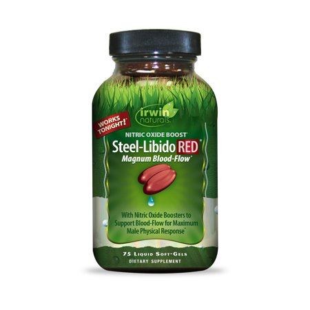 Natural Viagra - Irwin Naturals Steel-Libido RED® 75ct