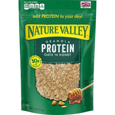 Nature Valley Granola Protein Oats N Honey Crunchy Bag 11 Oz