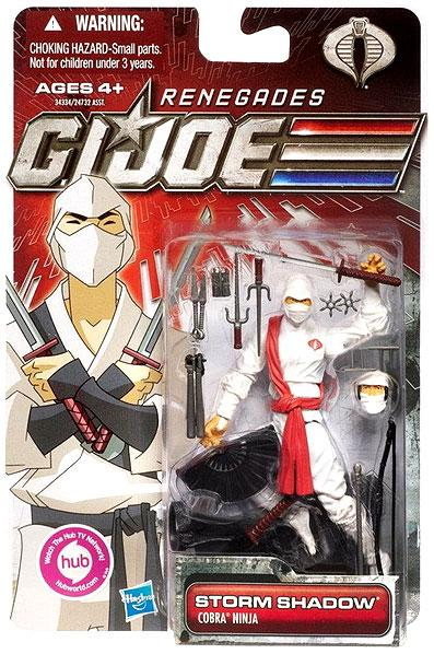 GI Joe 30th Anniversary Renegades Storm Shadow Action Figure by