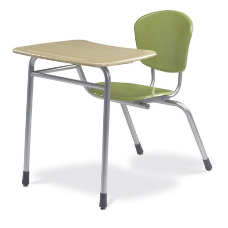 Pleasant Virco Zuma Plastic 32 5 Combo Chair Desk Walmart Com Caraccident5 Cool Chair Designs And Ideas Caraccident5Info