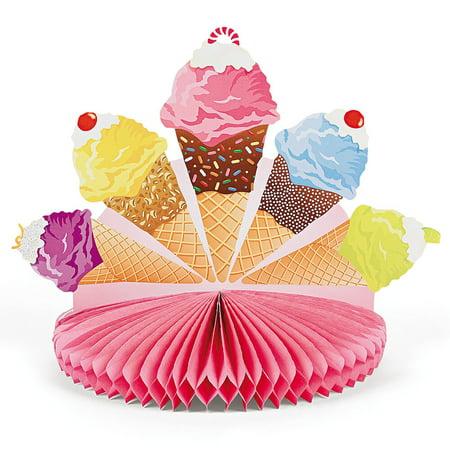 Ice Cream Centerpiece (each) - Ice Cream Centerpiece Ideas