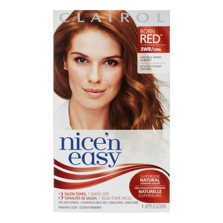 Clairol Nice 'N Easy Permanent Hair Color 5WR Natural Warm ...