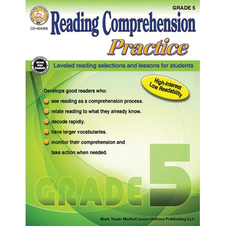 Reading Comprehension Practice, Grade 5