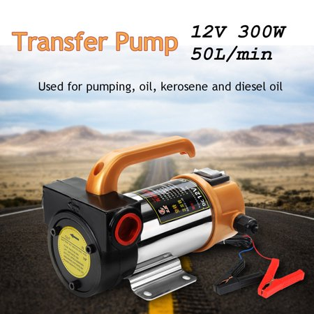 Portable 12V 260W Oil Diesel Fuel Fluid Extractor Electric Transfer Change (Oil Change Pump Review)