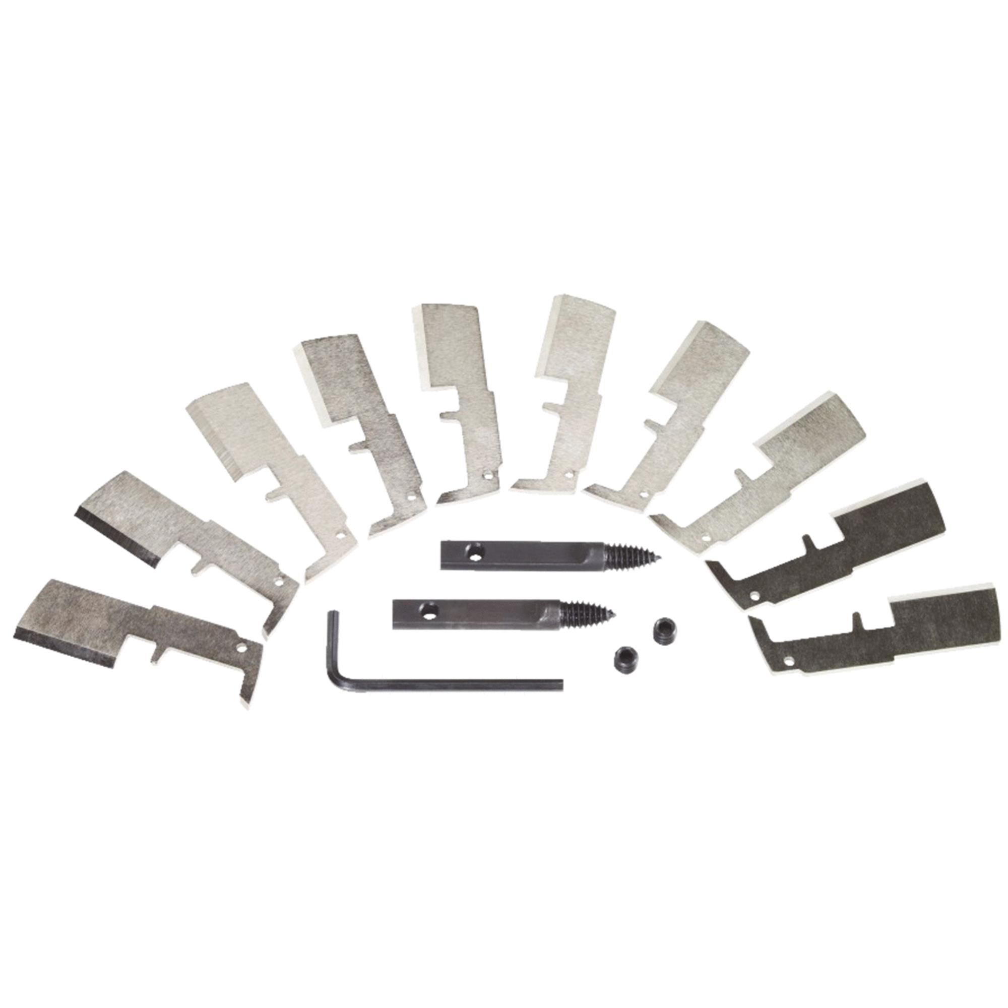 Milwaukee SwitchBlade 10 Pack Replacement Blade Kit