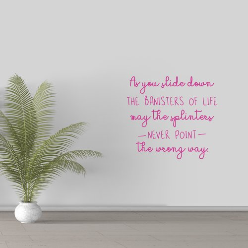 Winston Porter Hennigan The Banisters Of Life Wall Decal (Set of 3)