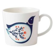 FABLE DECORATED - ACCENT MUG BIRD
