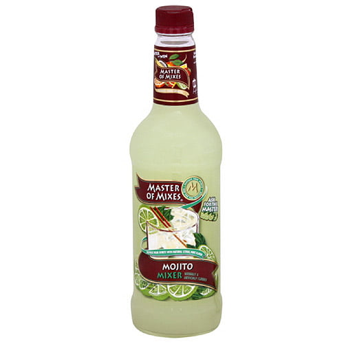 Master Of Mixes Mojito Cocktail Mix, 33.81 oz (Pack of 6) by Generic
