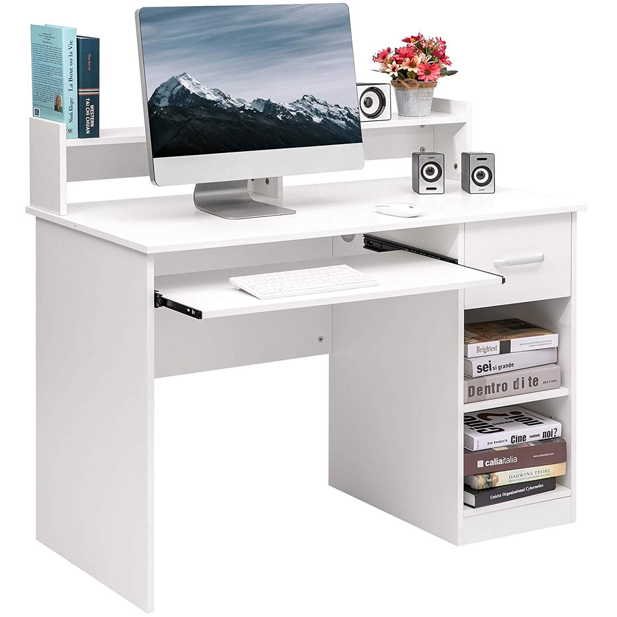 Computer Desk Office Home Furniture Student Desk Writing