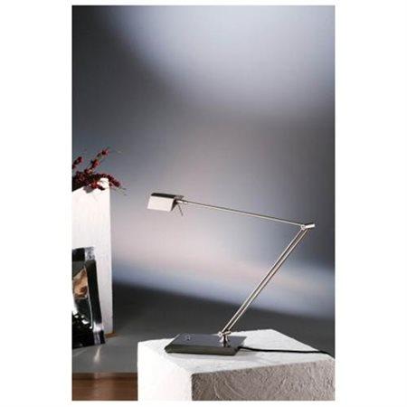 Holtkotter Bernie Desk Lamp, Satin Nickel - 6469sn