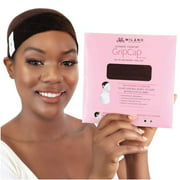 Milano Collection GripCap All-in-1 WiGrip Comfort Band and Wig Cap in Brown