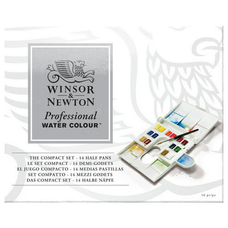WINSOR & NEWTON / COLART 0190049 PROFESSIONAL WATERCOLOUR COMPACT SET