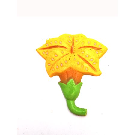 Orange Lilly Flower Growing Water Toy by Ganz - Water Squirting Flower