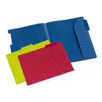 Product Image Pendaflex Letter Size File Folder With Secure Edge Orted Colors 4 Pack 12
