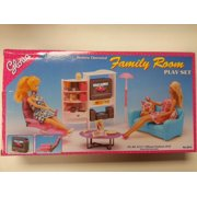 Gloria Family Room for Barbie dolls  and dollhouse Furniture