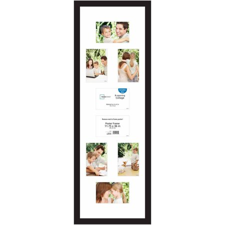 "Mainstays 24"" x 36"" Wide Walnut Poster Frame - Walmart.com"
